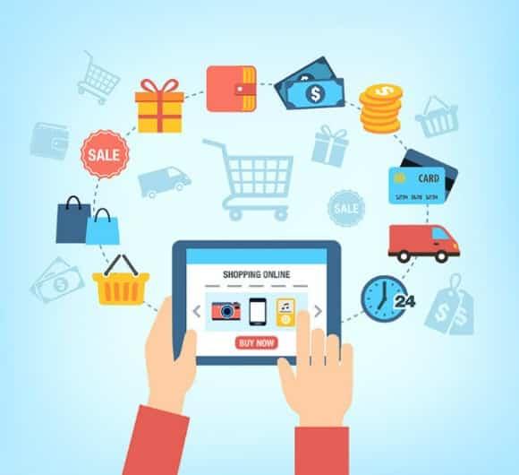 أنواع المتاجر الالكترونية