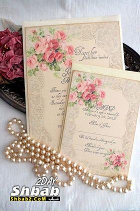 أرسل دعواتك بعد تنسيق حفلات زفاف