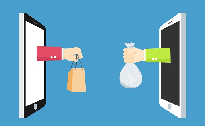 التجارة الالكترونية للمقيميمن