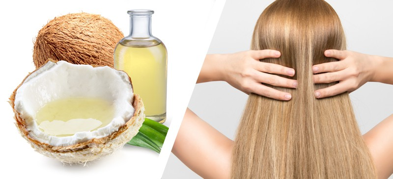 فوائد زيت جوز الهند لإطالة الشعر